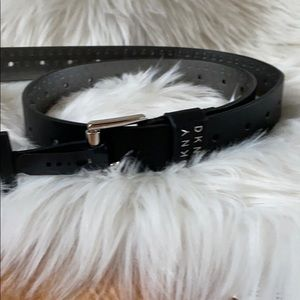 DKNY  Belt With Holes Throughout